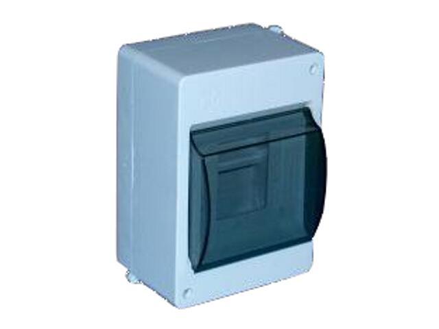Rozdzielnia izolacyjna 4-modułowa z szybą Elektro-plast N.