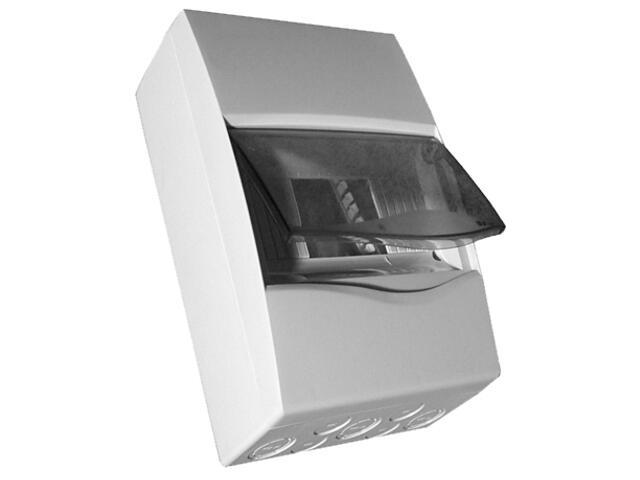 Rozdzielnia naścienna Combi szara 12 modułów IP40 z listw.drzwi transp. PCE