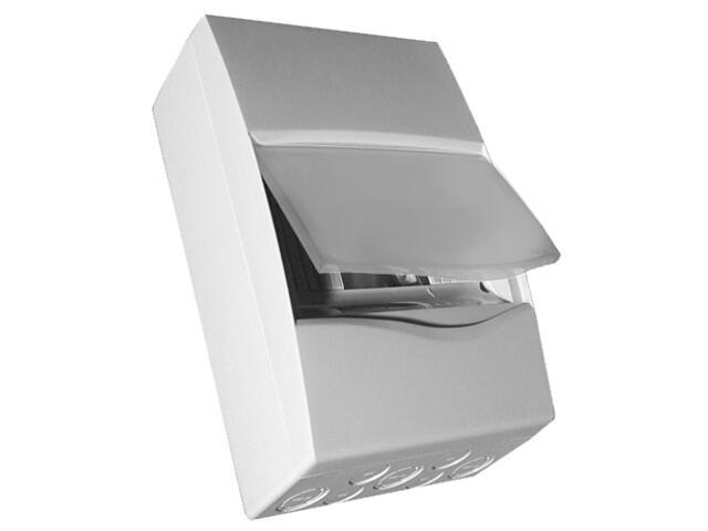 Rozdzielnia naścienna Combi szara 12 modułów IP40 z listw.drzwi pełne PCE