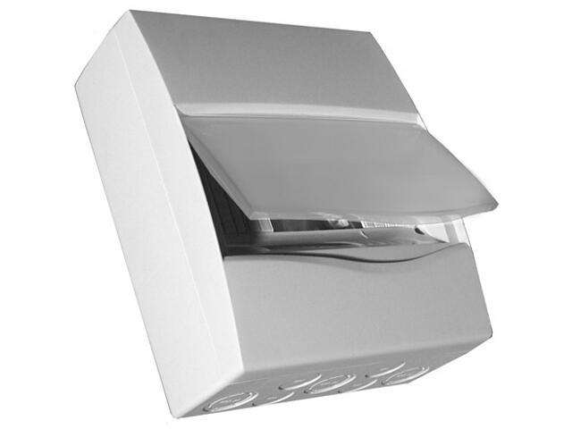 Rozdzielnia naścienna Combi szara 24 moduły IP40 z listw.drzwi pełne PCE