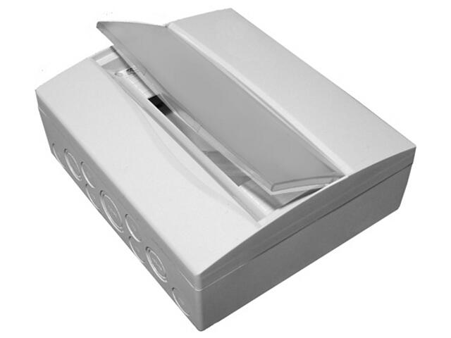 Rozdzielnia naścienna Combi szara 36 modułów IP40 z listw.drzwi pełne PCE