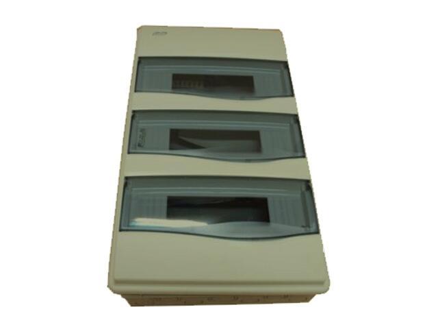 Rozdzielnia podtynkowa ORO szara 36 modułów IP40 z listw.drzwi transp. PCE