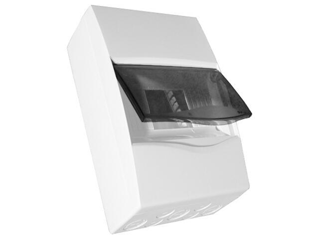 Rozdzielnia naścienna Combi biała 12 modułów IP40 z listw.drzwi transp. PCE