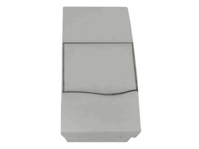 Rozdzielnia podtynkowa ORO biała 4M IP40 z listwami Z+N drzwi pełne PCE