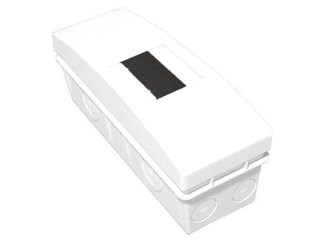 Rozdzielnia naścienna Combi biała 4 moduły IP40 bez listew zaciskowych PCE