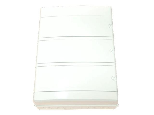 Rozdzielnia nad/podtynk. Ecology biała 57 mod. IP55 z listw.drzwi pełne PCE
