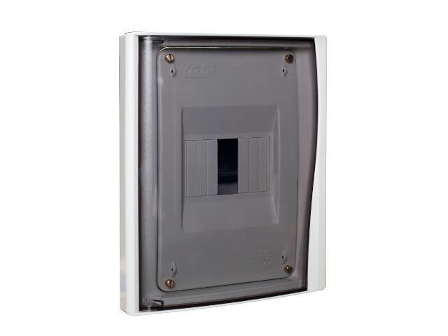 Rozdzielnia Diamand IP40 szara wyłącznik drzwi transparentne PCE