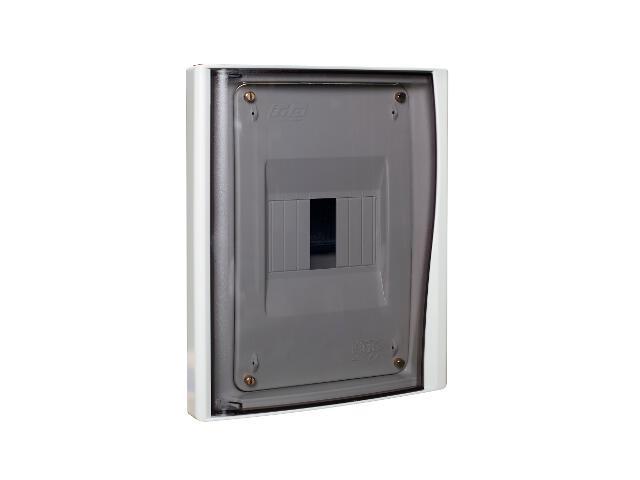 Rozdzielnia Diamand IP40 biała wyłącznik drzwi transparentne PCE
