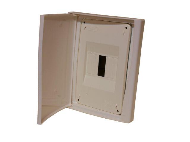 Rozdzielnia Diamand IP40 biała wyłącznik drzwi pełne PCE