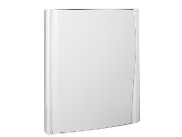 Rozdzielnia Diamand IP40 biała wyłącznik+4 moduły drzwi pełne PCE