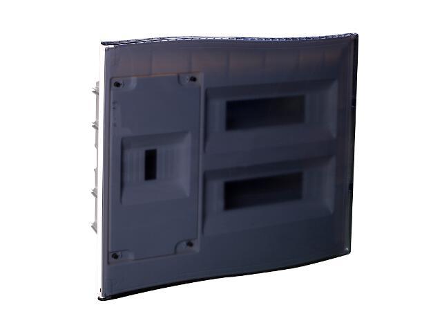 Rozdzielnia Diamand IP40 biała wyłącznik+24 moduły drzwi transparentne PCE