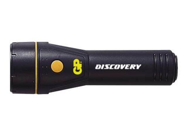 xLatarka ręczna z ABS; kryptonowa; 2xC GP Battery