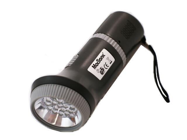 xLatarka ręczna ładowalna LED 3208LED MacTronic