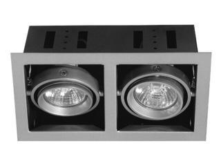 xLampa sufitowa wielopunktowa Premium Line Cardano wychylna 2x50W GU10/230V Paulmann
