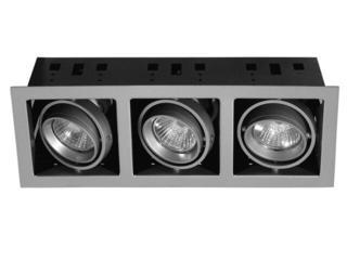 xLampa sufitowa wielopunktowa Premium Line Cardano wychylna 3x50W GU10/230V Paulmann