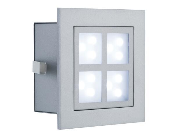 """xOprawa punktowa schodowa Profi Line LED """"Window 2"""" 1x1W aluminium Paulmann"""