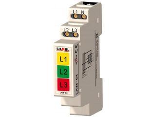 Kontrolka sygnalizacyjna zasilania 230V/400V LED TN typ: LKM-04-40 Zamel