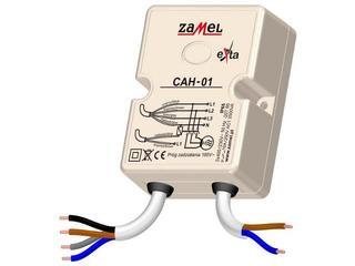 Czujnik kolejności i zaniku faz, asymetrii faz 230V/400V IP65 typ: CAH-01 Zamel