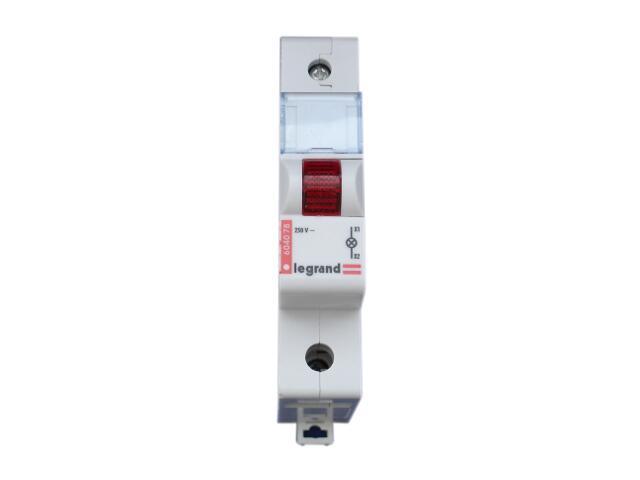 Kontrolka sygnalizacyjna na szynę L311 604078 czerwony Legrand