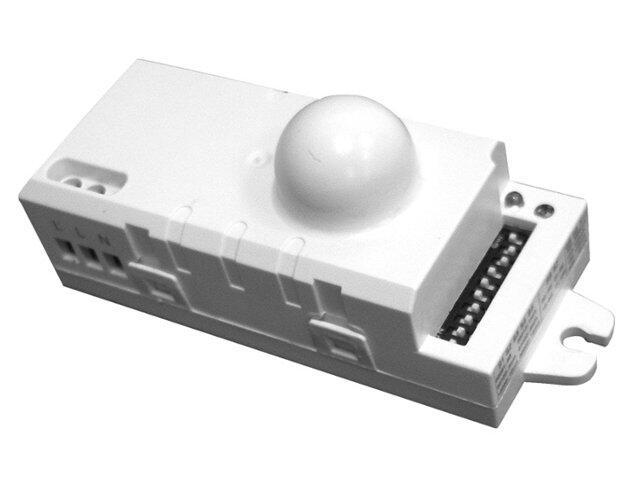 Czujnik ruchu mikrofalowy MVD-04A8 wewnętrzny 230V przełącznik DIP automatyki Eura-Tech