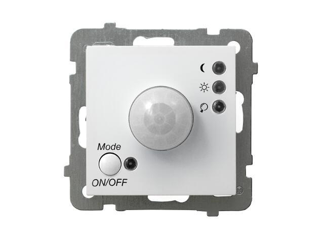 Łącznik modułowy AS bez ramki biały Ospel