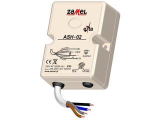 Sterownik schodowy z przeciwblokadą 230V IP65 typ: ASH-02 Zamel