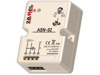 Sterownik schodowy z przeciwblokadą 230V typ: ASN-02 Zamel