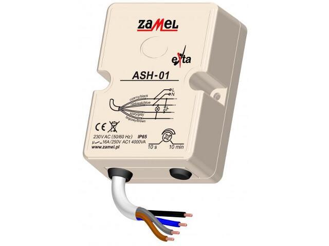 Sterownik schodowy 230V IP65 typ: ASH-01 Zamel