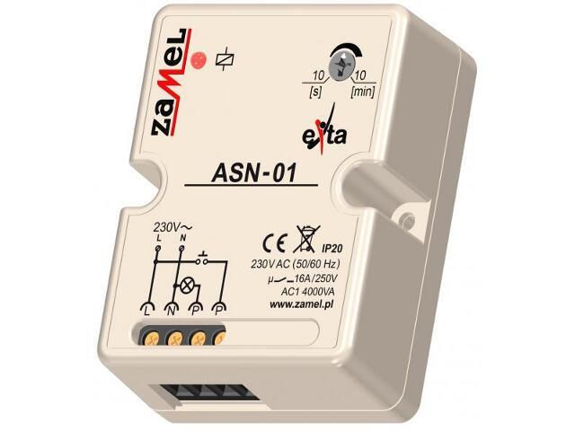 Sterownik schodowy 230V typ: ASN-01 Zamel