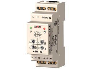 Sterownik schodowy z przeciwblokadą i sygnalizacją wył. typ: ASM-10 Zamel