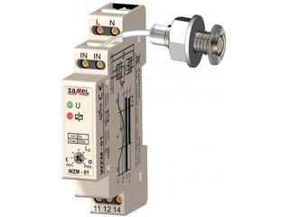 Czujnik zmierzchowy typ:WZM-01/S1 z sondą SOH-01 -1 moduł, 230V/16A Zamel