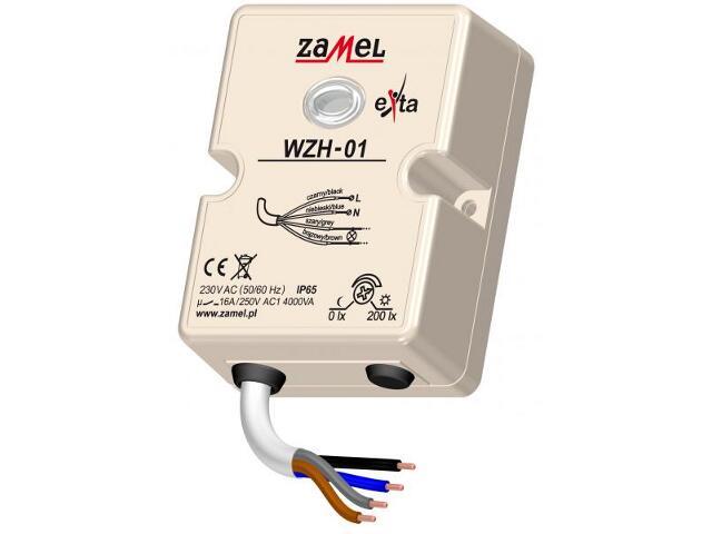 Czujnik zmierzchowy hermet.230V/16A/IP65 typ:WZH-01 Zamel
