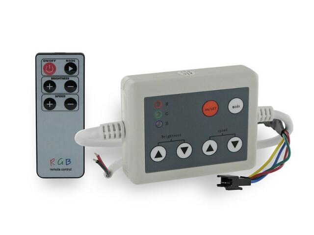Sterownik RGB do taśm LED 144W 12V Sterowany Radiowo 07308 Whitenergy