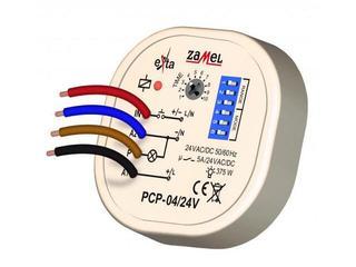 Przekaźnik czasowy wielofunkcyjny 24V AC/DC typ: PCP-04/24V Zamel