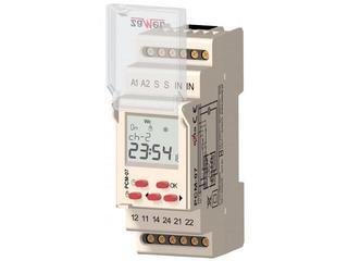 Przekaźnik czasowy cyfrowy wielofunkcyjny 230V AC typ: PCM-07/U Zamel