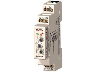Przekaźnik czasowy wielofunkcyjny 230V typ: PCM-04 Zamel