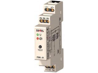 Przekaźnik bistabilny 24V AC/DC typ: PBM-01/24V Zamel