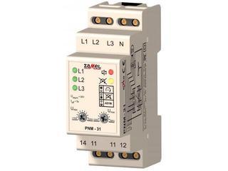 Przekaźnik instalacyjny napięcia 3-fazowy 230/400V typ: PNM-31 Zamel