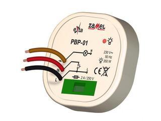 Przekaźnik bistabilny dopuszkowy 230V/15-350W typ: PBP-01 Zamel