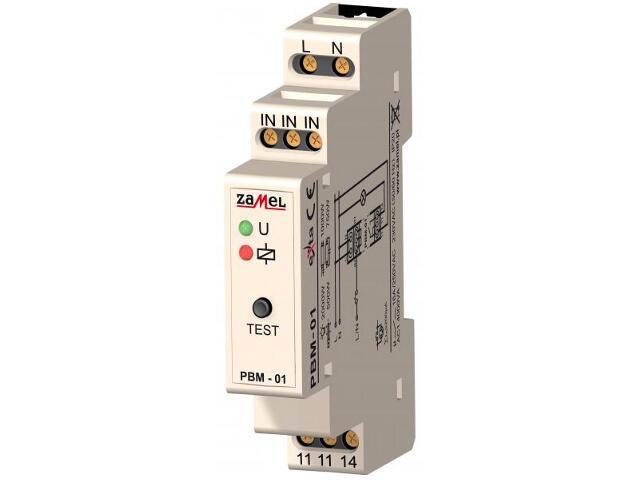 Przekaźnik bistabilny 230V typ: PBM-01 Zamel