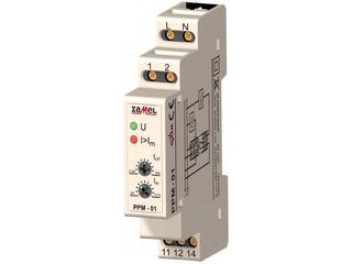 Przekaźnik funkcyjny priorytetowy 230V 2-10A typ: PPM-01 Zamel