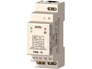 Przekaźnik instalacyjny rezystancyjny z sondą PTC 2-modułowy 230V/16A typ: PRM-10 Zamel