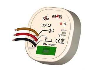 Sterownik pamięć stanu 230V 15-350W typ: DIP-02 Zamel