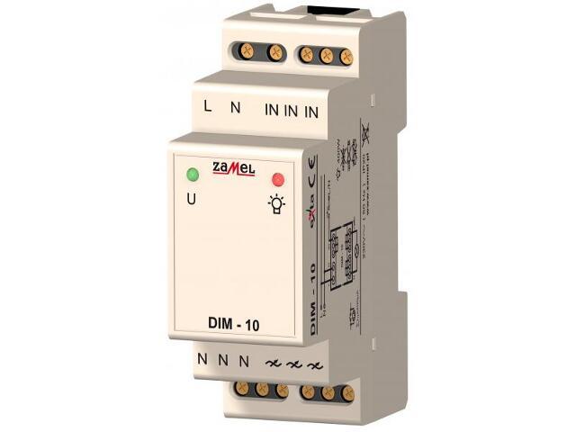 Sterownik 230V 30-400W typ: DIM-10 Zamel