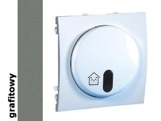 Ściemniacz Classic z symulatorem obecności (moduł) MSO10.01/25 grafit Kontakt Simon