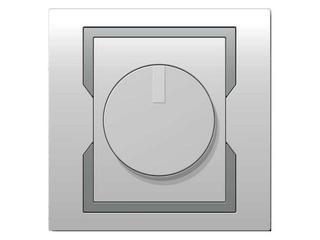 Ściemniacz QUATTRO obrotowy 400W SPT biały srebrny Elektro-plast N.