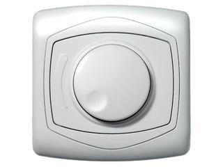 Ściemniacz TON przyciskowo-obrotowy do żarówek biały Ospel