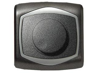 Ściemniacz TON METALIC przyciskowo-obrotowy do żarówek grafit srebro Ospel