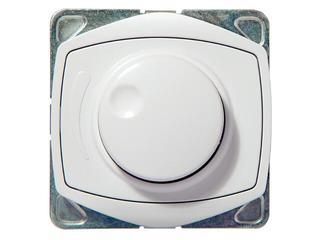 Ściemniacz do modułu TON COLOR SYSTEM przyciskowo-obrotowy do żar. i halog. biały Ospel