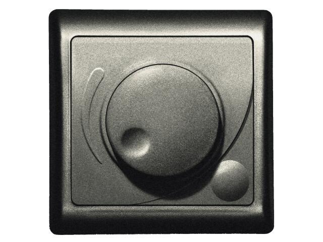 Ściemniacz EFEKT METALIC przyciskowo-obrotowy do żar/halog. grafit Ospel